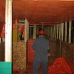 #20 ROASTER ENCLOSURE BUILD CLEAN ROOM 003